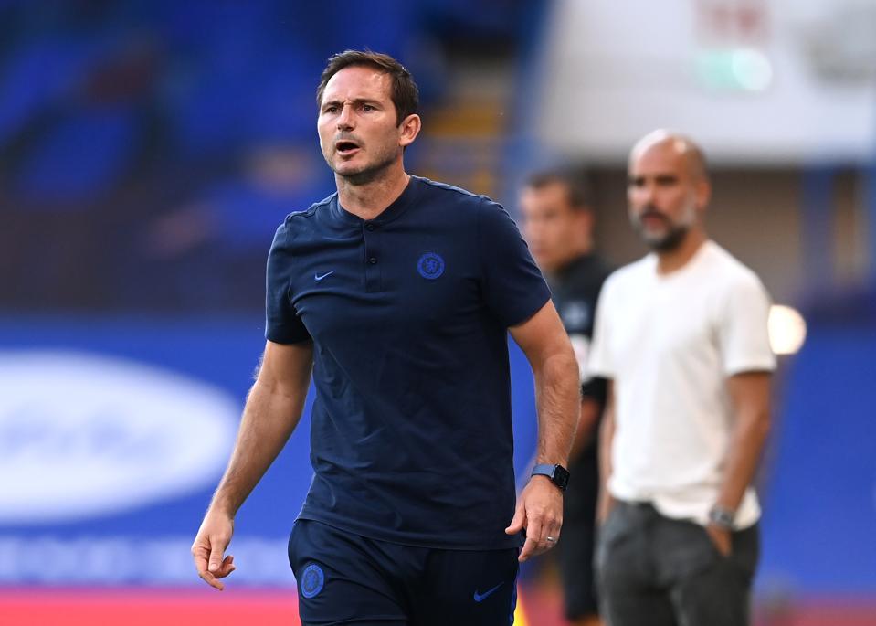 Chelsea FC géint Manchester City - Premier League