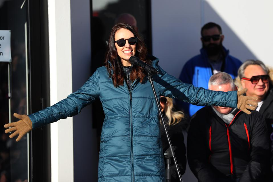 New Zealand Prime Minister Jacinda Ardern shows how to lead in crisis.