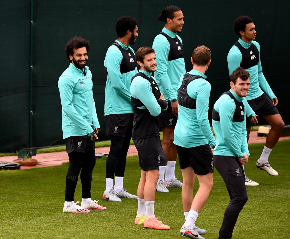 Liverpool Have Their First Training Session As Premier League Champions