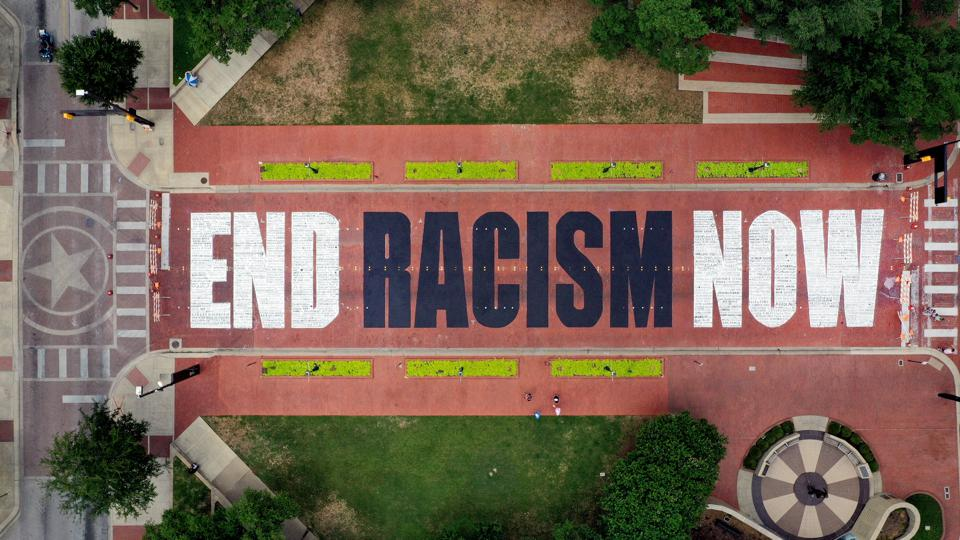 Artists Take 'End Racism Now' Message To Downtown Fort Worth