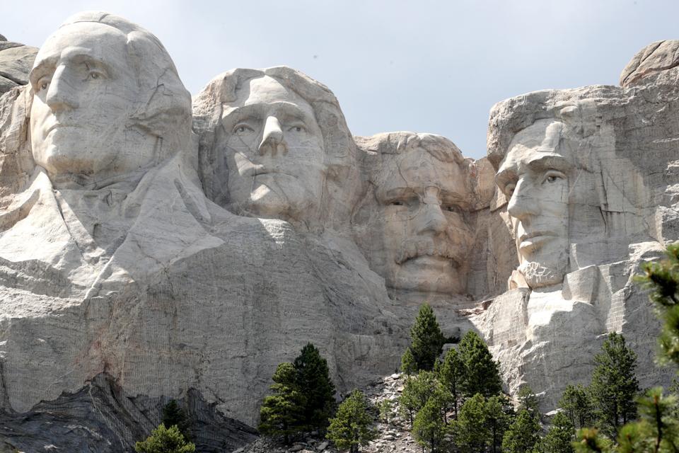 Mount Rushmore National Memorial And Keystone, South Dakota Prepare To Host President Trump