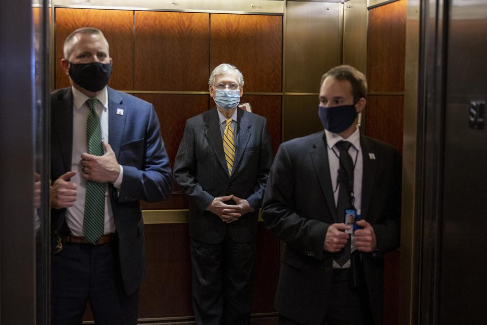 CIA Director Haspel And The ″Gang Of Eight″ Meet At U.S. Capitol