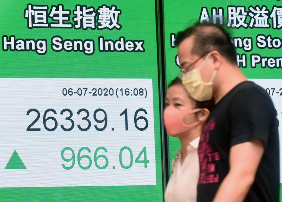Hang Seng Index Rises On Monday