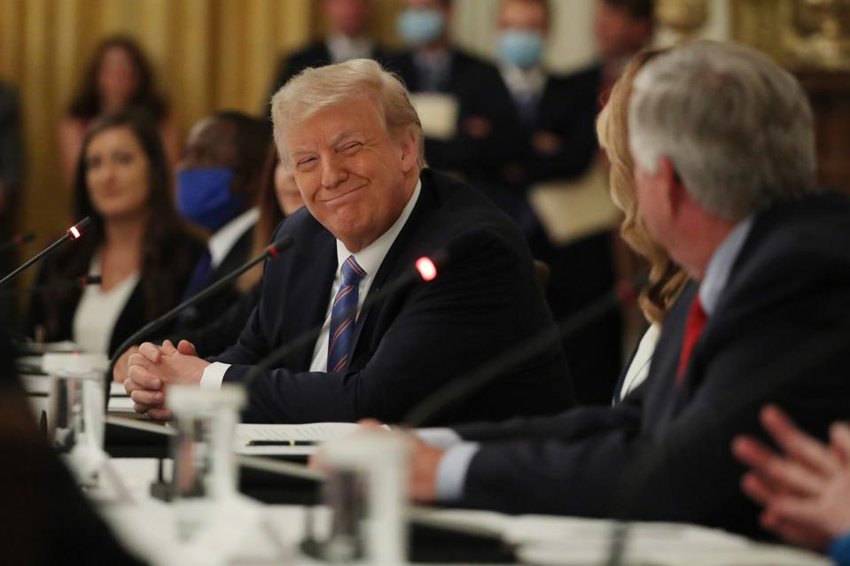 President Trump Participates In National Dialogue On Safely Reopening Nation's Schools