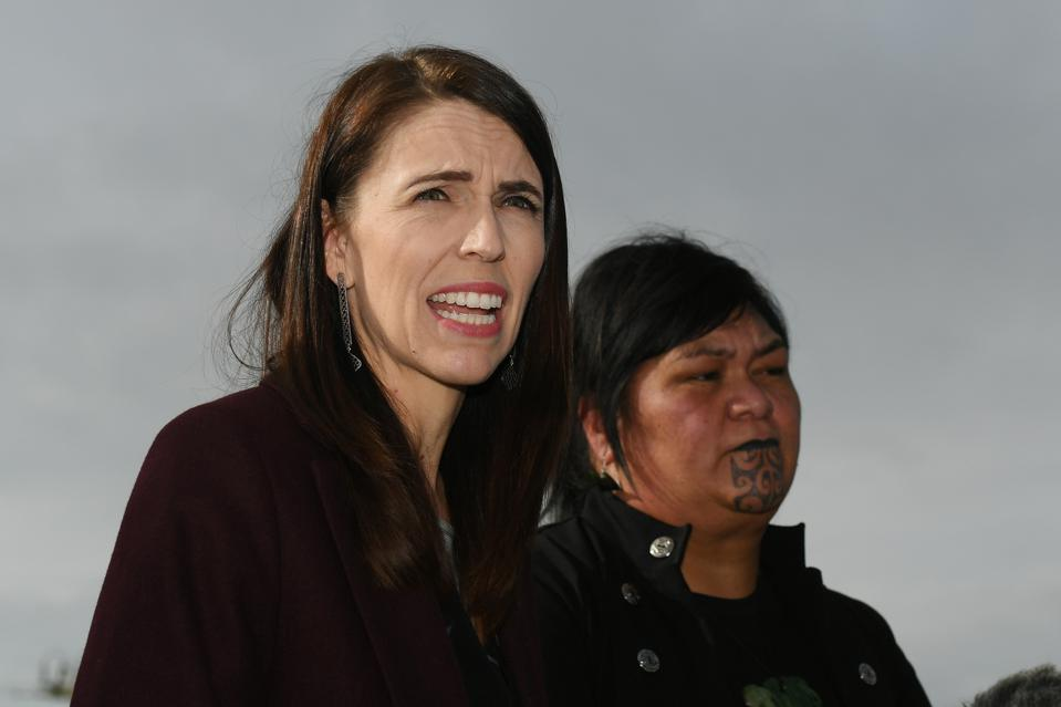New Zealand Prime Minister Jacinda Ardern makes Three Waters Infrastructure Announcement.