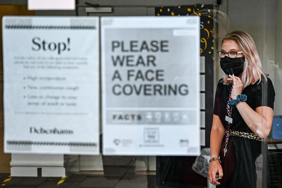 Wearing Of Face Masks Become Mandatory In Scotland's Shops