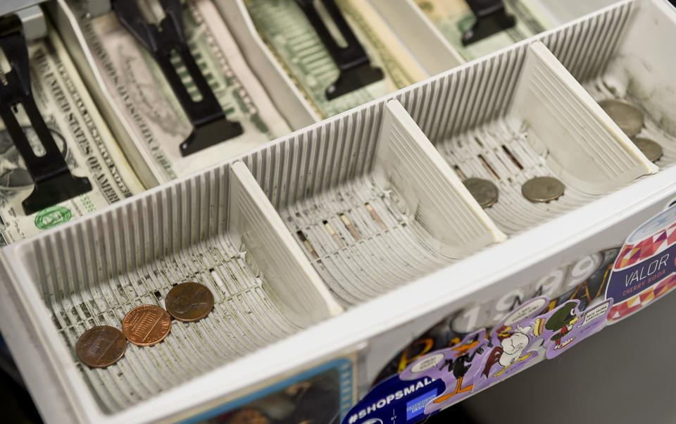 Coin Shortage Cash Register