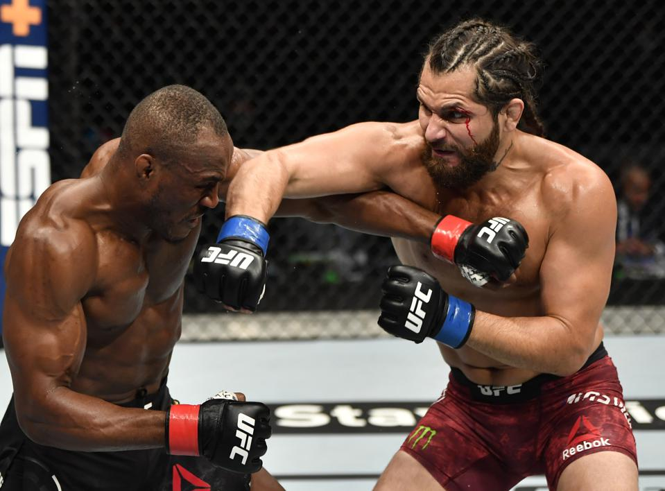 Kamaru Usman defended his UFC welterweight title last night in the main event of UFC 251.
