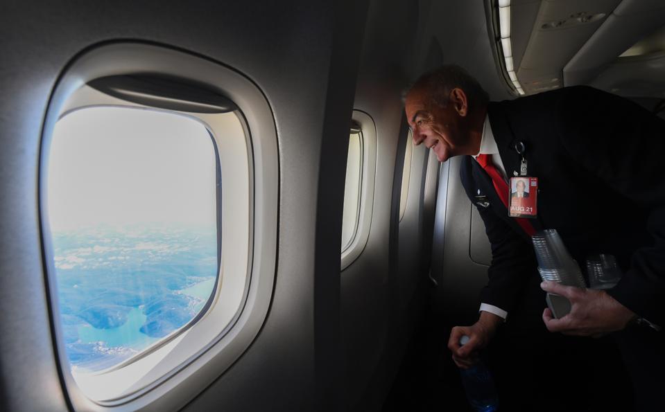 Final Operational Flight For 747 Jumbo Jet Retirement Qantas COVID-19