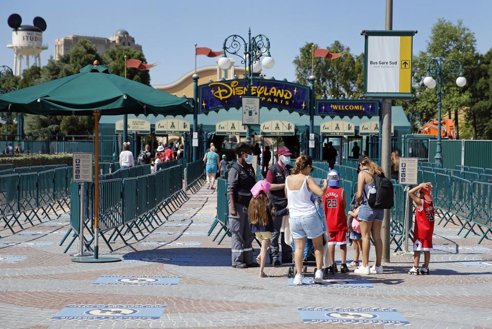 Disneyland Paris Reopens For Annual Pass Holders