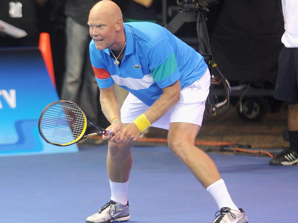 Tennis player Murphy Jensen