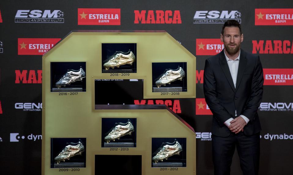 Spain Messi Golden Boot