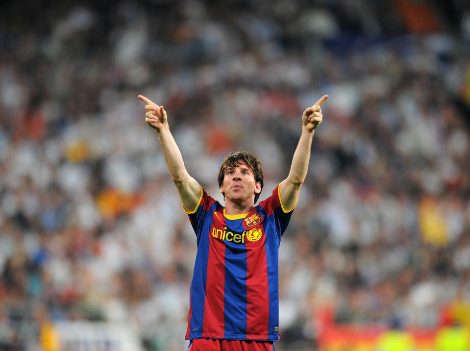 Lionel Messi's second half brace essentially led Barcelona to the 2011 Champions League