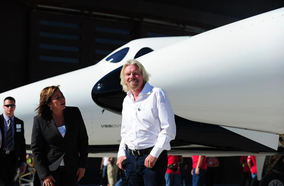 Sir Richard Branson and New Mexico Gover