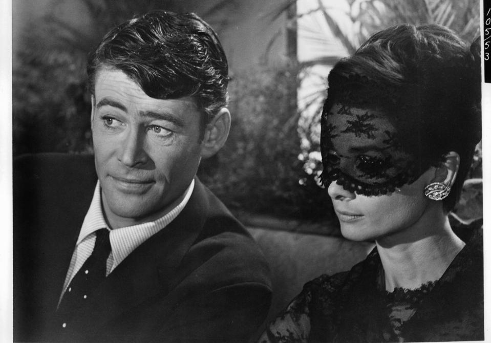 Peter O'Toole And Audrey Hepburn In 'How To Steal A Million'