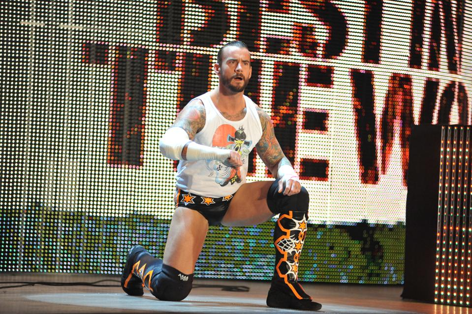 WWE Monday Night Raw Supershow: CM Punk