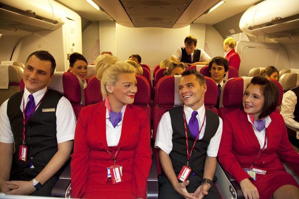 Virgin Atlantic Air Stewardess Training