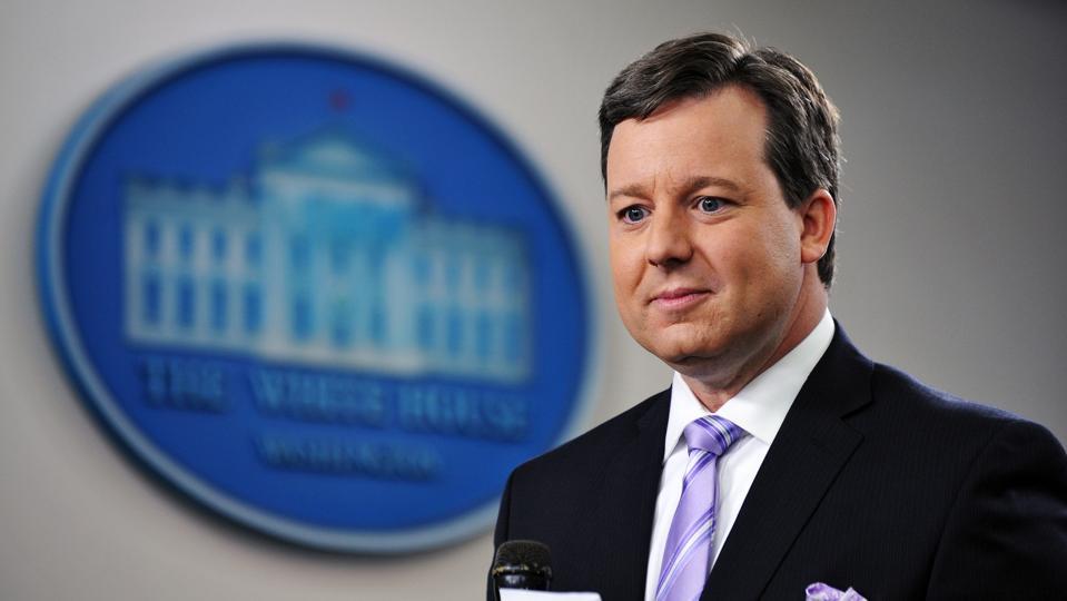 Il corrispondente della Fox White House Ed Ed