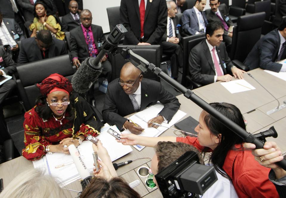 Nigeria's Minister of Petroleum Diezani