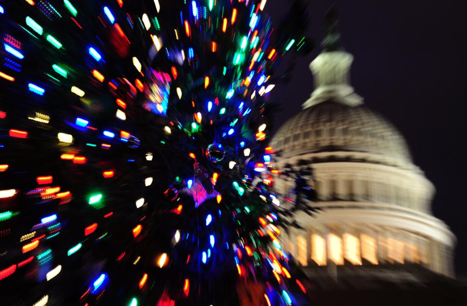 For federal contractors, Christmas comes in September, not December.