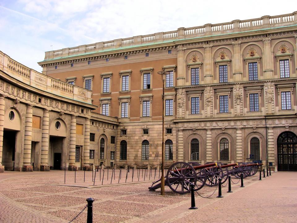 Courtyard at Stockholm's Royal Palace