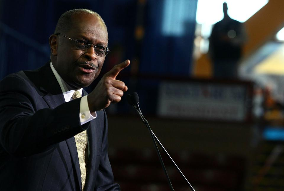 Former GOP Candidate Herman Cain Speaks At The Southern Republican Leadership Conference