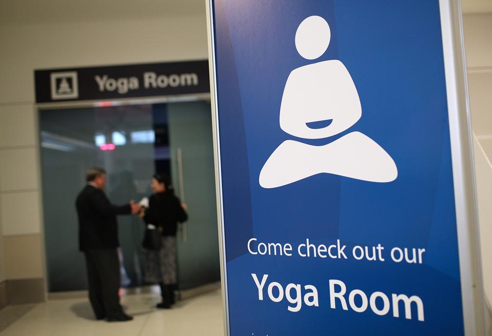 Yoga Room Opens In San Francisco International Airport
