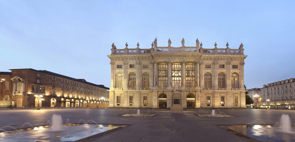 Turin, Palazzo Madama, Italy