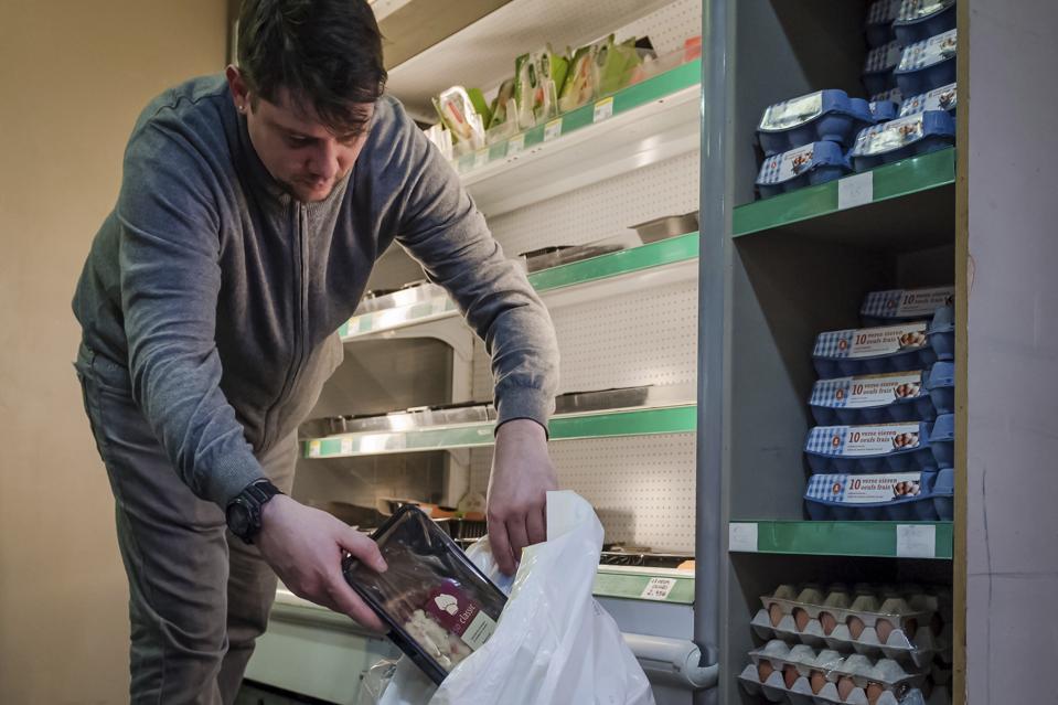 Belgium Europe Food Waste