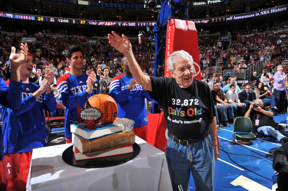 Count Stat Guru Harvey Pollack Among The Most Impactful Figures In Philadelphia 76ers History