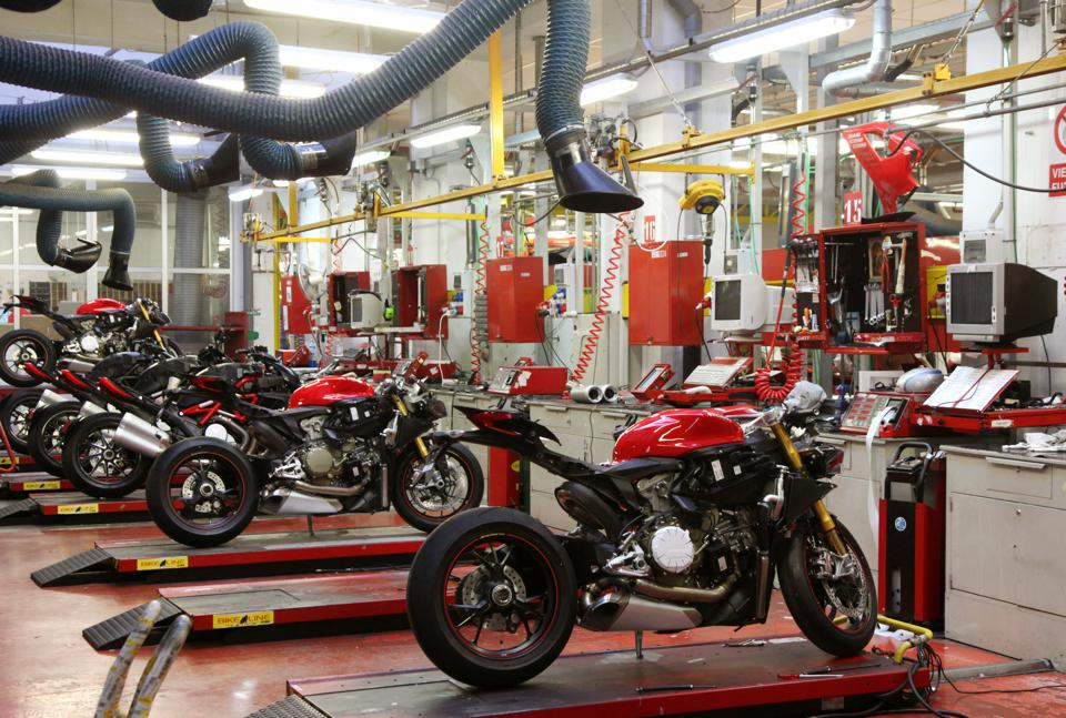 Ducati Factory Assembly line
