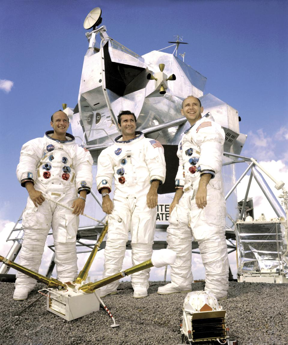 Prime Crew Of The Apollo 12 Lunar Landing Mission