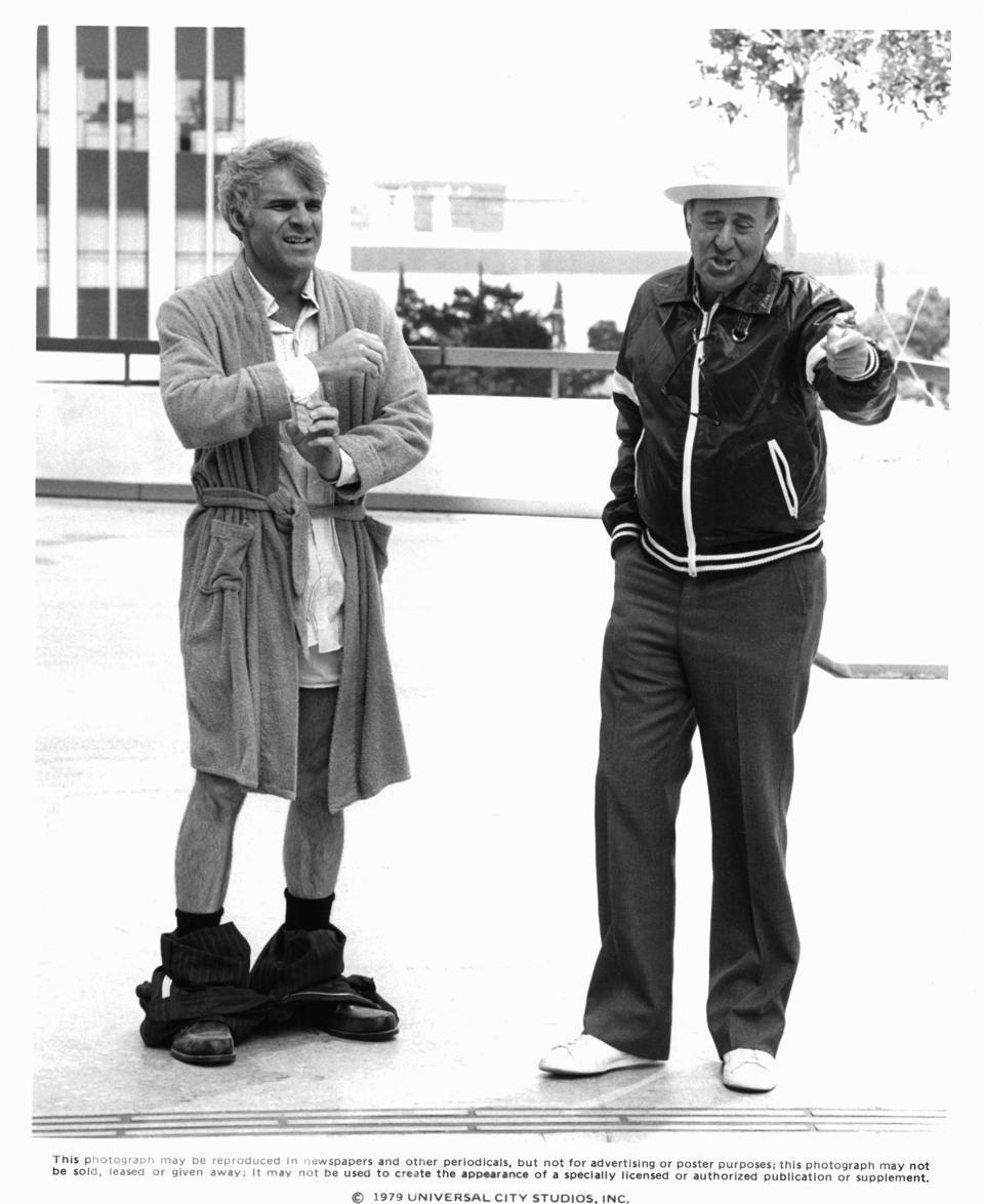 Steve Martin And Carl Reiner In 'The Jerk'