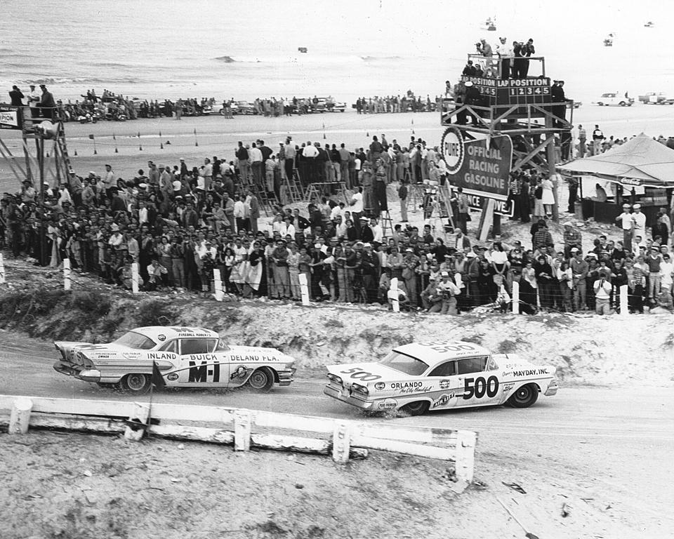 Phil Orr/Fireball Roberts - NASCAR Daytona 1958