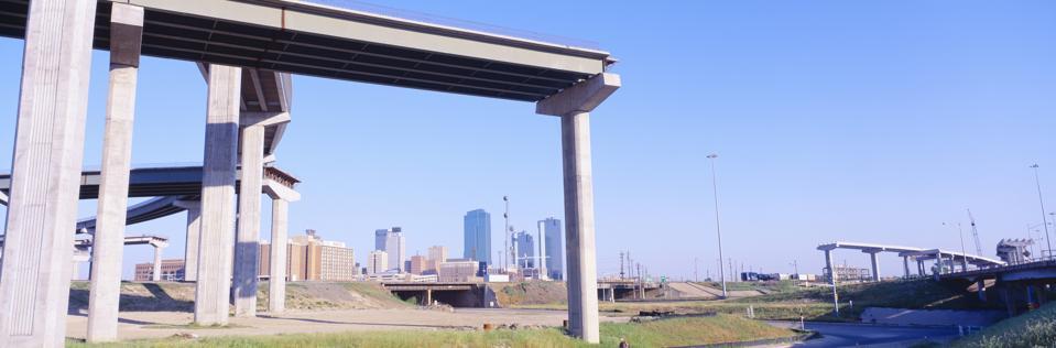 Freeway Dead End, Fort Worth, Texas