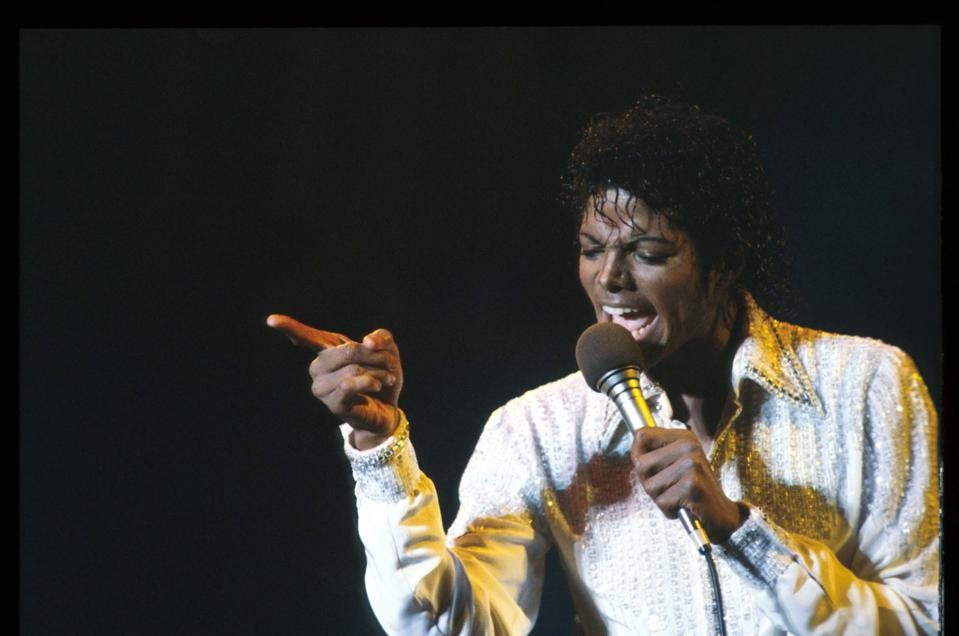Michael Jackson - Performs In Buffalo