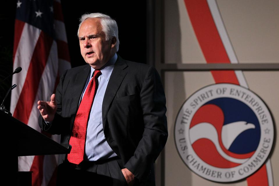 FedEx CEO Frederick Smith Speaks At Small Business Summit