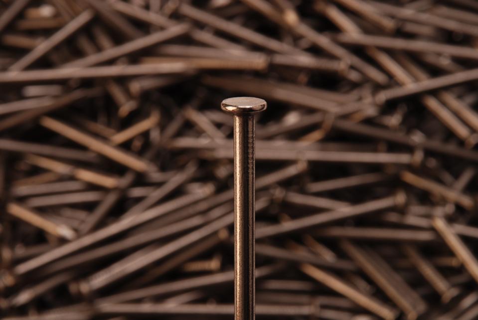 Nail Head Close-up
