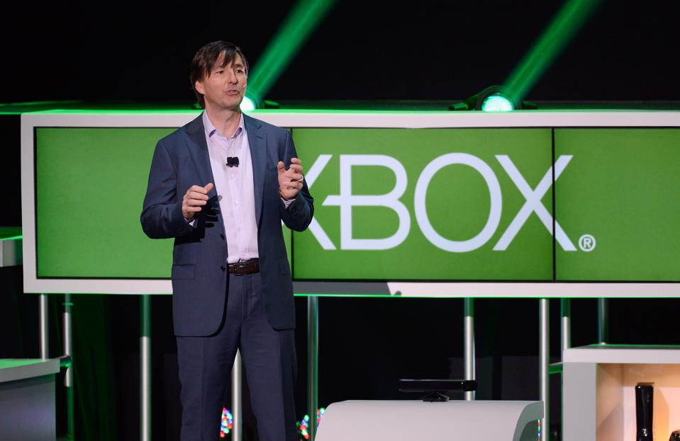 Microsoft Holds News Briefing Ahead Of E3 Conference