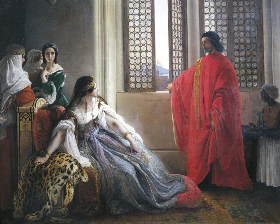 News of the deposition of the Queen of Cyprus