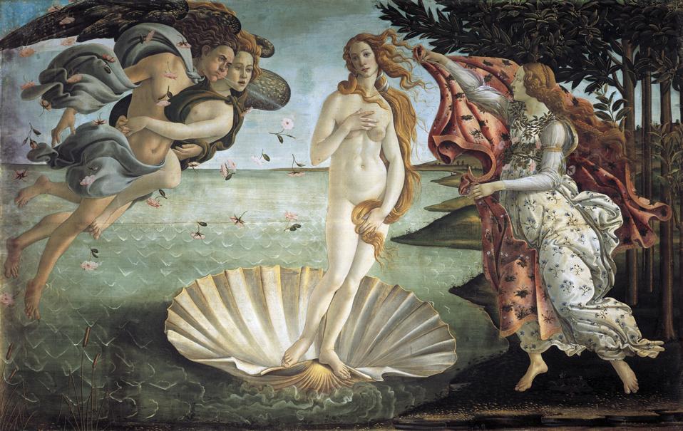 The Birth of Venus, Botticelli, Renaissance Art