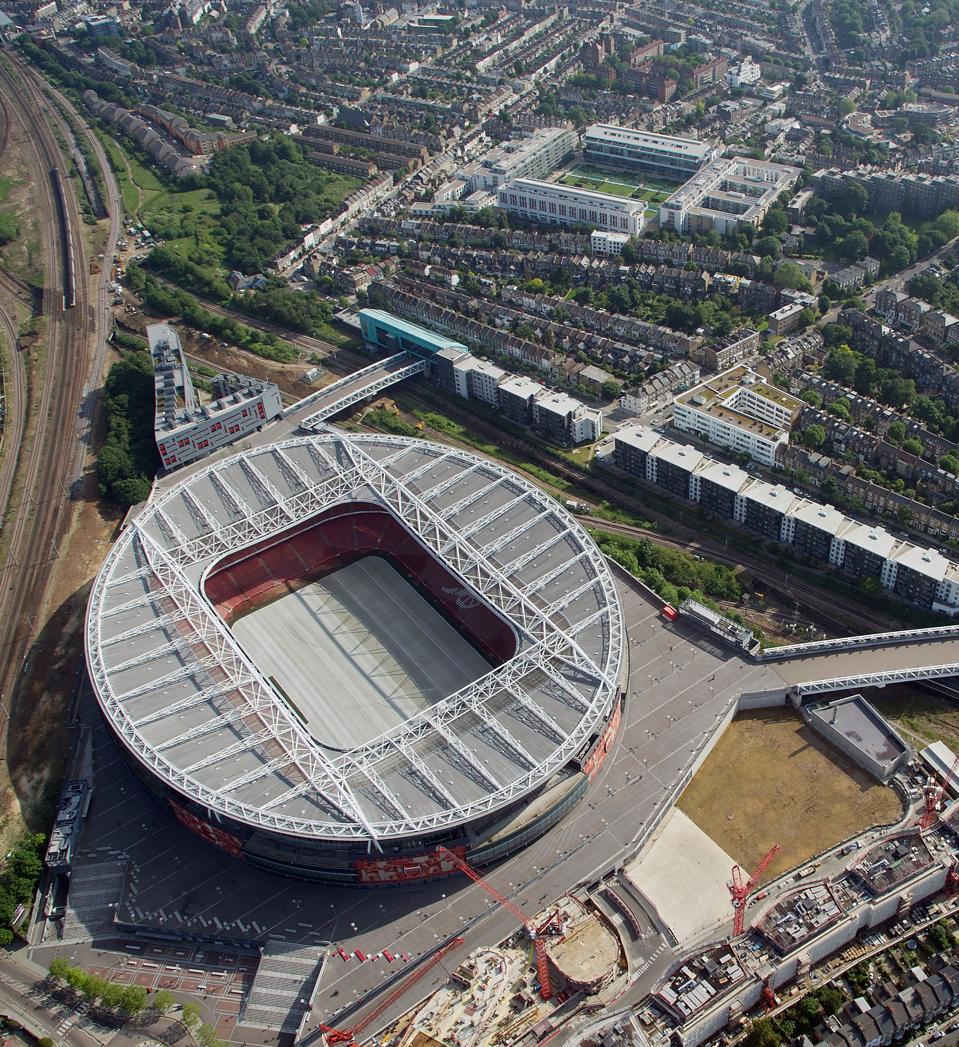 Aerial Views Of London Stadiums