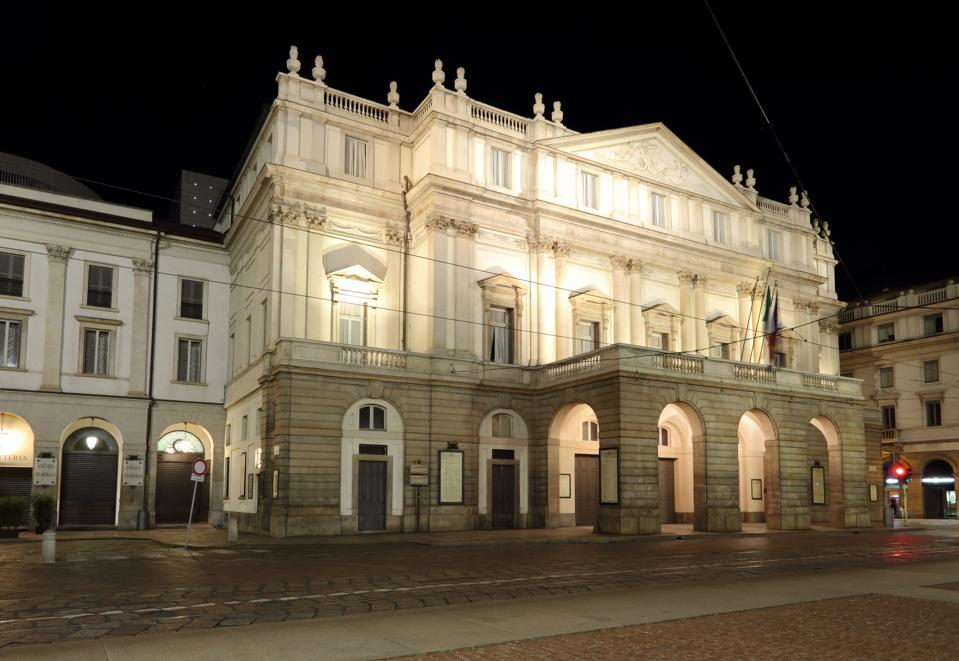 Milan Italy, teatro alla scala