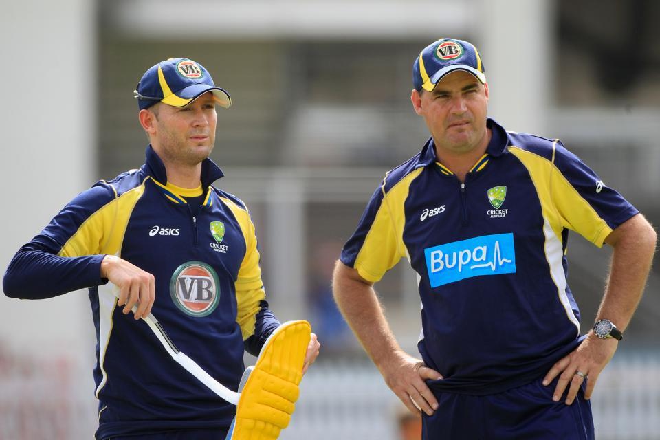 England And Australia Nets Session