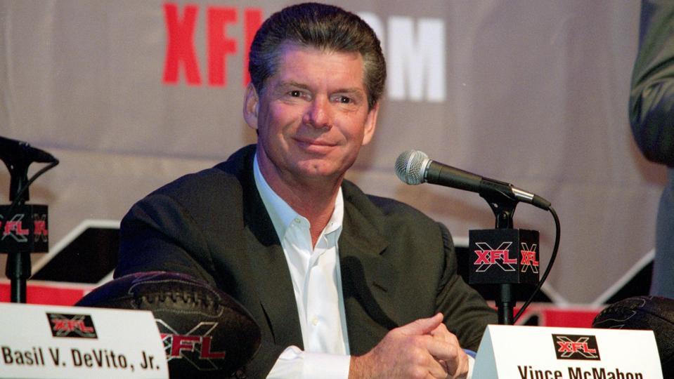 Vince McMahon...