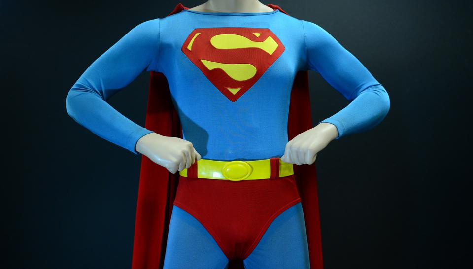 Christopher Reeve's Superman suit