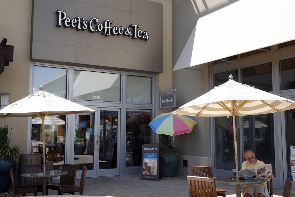 Peet's Coffee and Tea, on part of the Reimann's coffee empire.