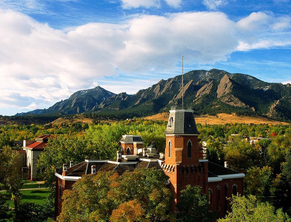 University Of Colorado Buffaloes Campus