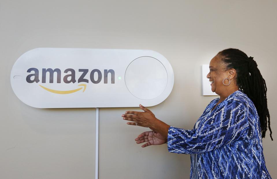 Oversized Amazon Dash Button
