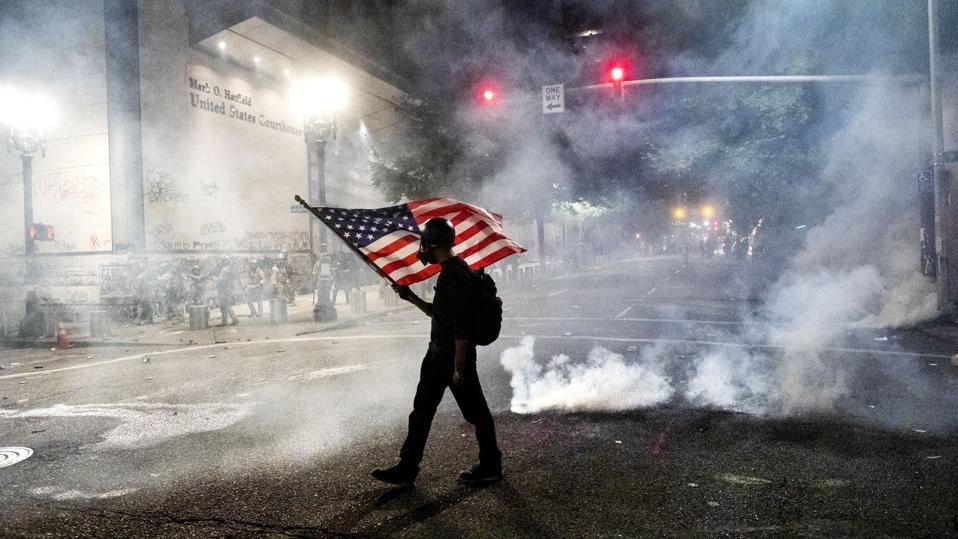 APTOPIX Racial Injustice Portland